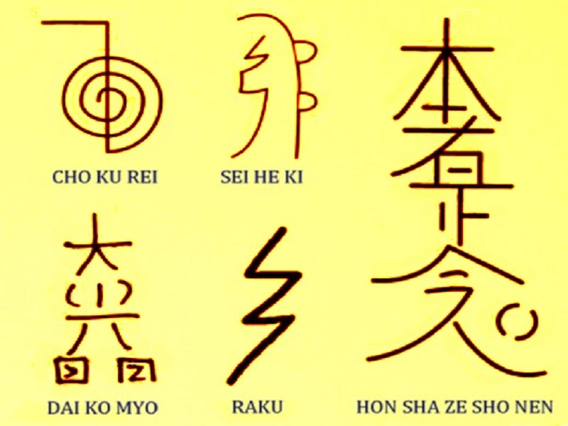 Символы Рейки...Действие символов...Изображение символов...