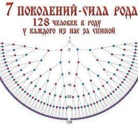 ВЛИЯНИЕ 7 ПОКОЛЕНИЙ ПРЕДКОВ НА СУДЬБЫ ПОТОМКОВ