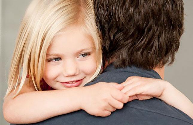 Влияние поведения папы на будущее дочери.