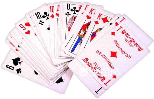 Игральные карты — эффективный талисман.