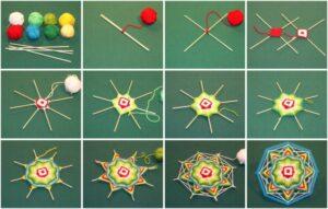 Плетение мандалы своими руками: простая техника и советы начинающим