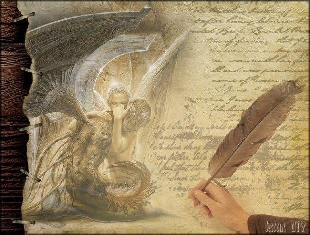 Письмо ангелам-хранителям.