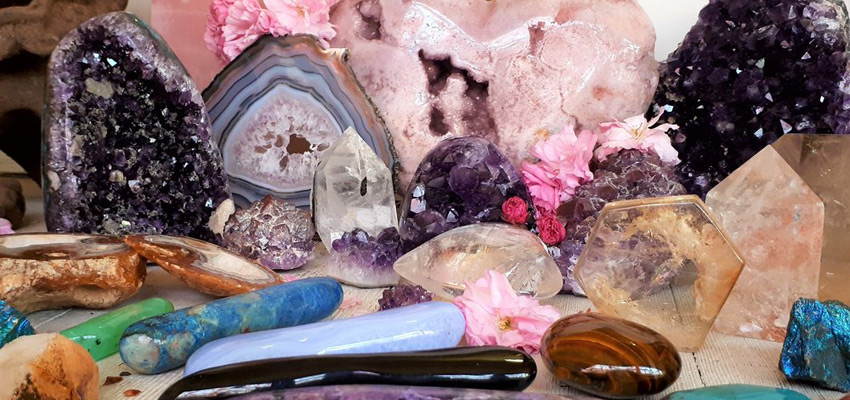 Целительные кристаллы.